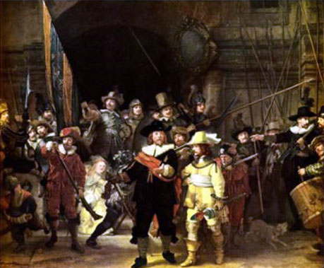 """""""Night Watch"""" by Rembrandt, brought to life"""