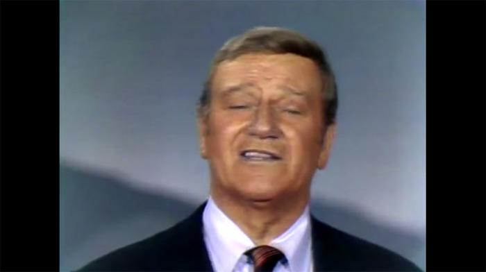 John Wayne 1970 Variety Show Celebrating America's History