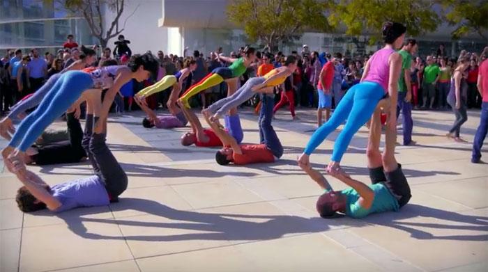 Acro Flashmob